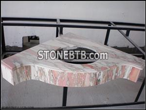 Marble Top Vanity Top Countertop Norway Red