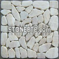 Travertine Mosaic (TYJ4007D-1)