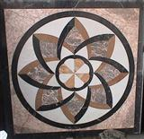 Marble Pattern, Waterjet Medallion