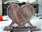 Heart Shape Granite Headstone Design