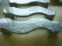 landscaping stone marble bench