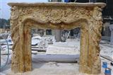 GIGA white onyx fireplace marble mantels