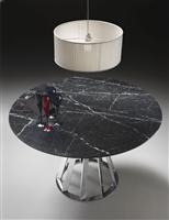 GIGA black marble dining tables top