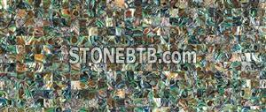 Green Abalone Shell Tile