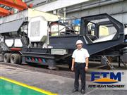 Mobile Aggregate Crusher/Concrete Crusher Plant/48Mobile crusher