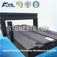 High Precision Black Granite Bridge With Grade00 Of DIN, JIS Or GB For CMM, Drilling Milling Machines For PC Board