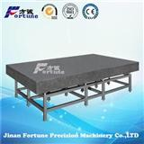 FORTUNE Precision Granite Inspection Surface Plate With Welded Support With High Degree Of Accuracy