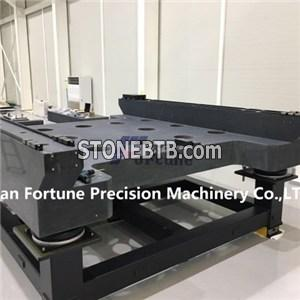 Granite machine base according to customers' drawing