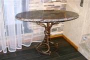 Rain Forest Brown Marble Table top
