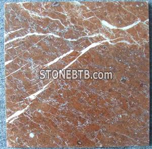 Red mountain marble