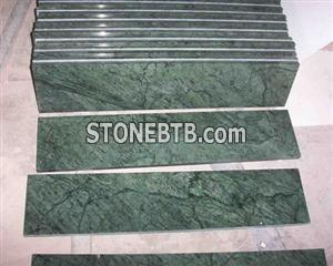 Flower Green Marble Cut to size
