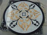 Marble Inlay Waterjet Medallion 007