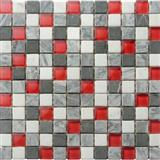 natrual stone mix glass mosaic tiles mosaic wall tiles