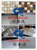 Full Automatic Continuous Ceramic Tiles Mosaic Cutting Machine Three Shaft Multi Blades