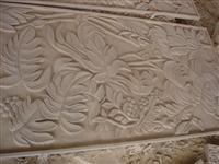 Leaves Sandstone Relief