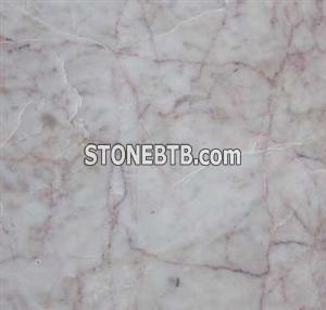 Marble Red Cream