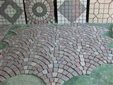 Porphyry Red/Grey/Green Paving Stone