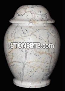 Boticina Marble Ginger Jar