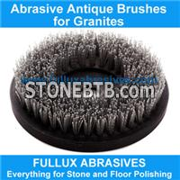 Round Antique Brush for Granite Manual Polishing Machine