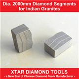 Dia.2000mm Diamond Segment for Single Blade Bridge Block Cutter