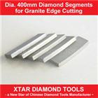 Dia.400mm Diamond Segment for Granite Edge Cutting
