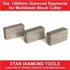 Dia.1200mm Diamond Segment for Granite Block Cutting or Sawing