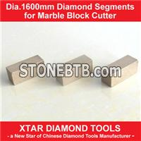 Dia.1600mm Diamond Segment for Multiblade Four-column Block Saw