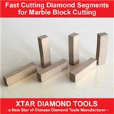 Diamond Segments for Multiblade Four-column Block Saw