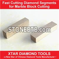 Excellent Sharpness Diamond Segment for Marble