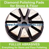 wet use diamond polishing pads for floor