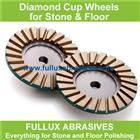 Turbo Cup Wheel for Stone Grinding