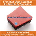 marble polishing abrasive steel bonded frankfurt brush