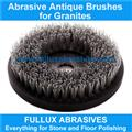 Diamond Brush Abrasive Round Polishing Brush For Granite