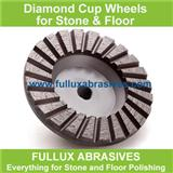 Diamond Double Row Cup Wheel for Floor and Concrete