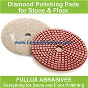 Premium Supplier Abrasive Disc Dry polishing Pads with Snail Lock
