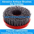 Round Antique Brush for granite,marble,quartz and ceramic stone