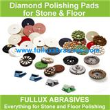 Black Buff Dry Polishing Pads for Marble and Granite