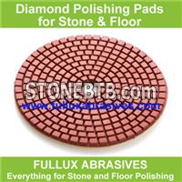 Black Buff Wet Polishing Pads for Marble and Granite