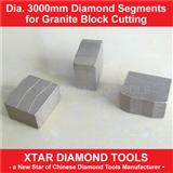 Dia.3000mm New Granite Cutting Segment and Diamond Segment for Granite