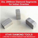 Dia.2000mm New Granite Cutting Segment and Diamond Segment for Granite