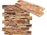 Rust Stacked Slate Culture Stone Tiles