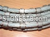 Diamond wire saws for granite profiling