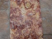 Red Travertine Polished