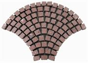 Fan-shaped Granite Paving Stone