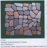 Porphyry Meshed Paving Stones