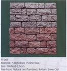 Putian Red, Black Granite Paving Stones