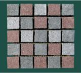 Porphyry Red /Grey/Green Paving Stone On Mesh