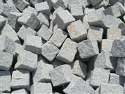 Granite paving, cobble, cube stones