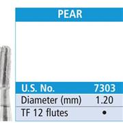 Inverted Cone Trimming And Finishing Carbide Burs