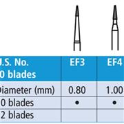 Esthetic Finishing Carbide Burs
